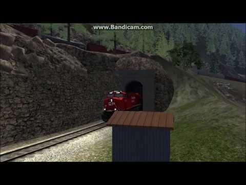Train Simulator 2014: Canadian Mountain Passes Spiral Tunnels |