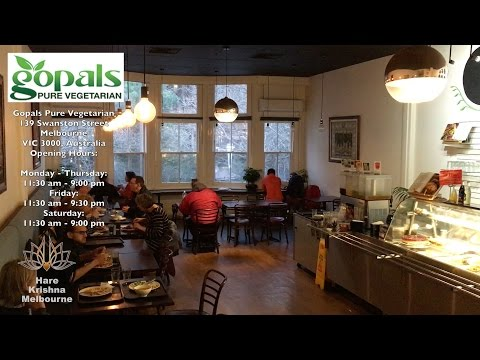 Hungry? ➤ Gopals, Pure Vegetarian