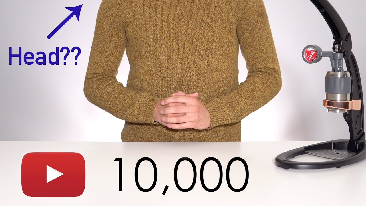 10,000 Subscribers | What's Next? Where's my Head?
