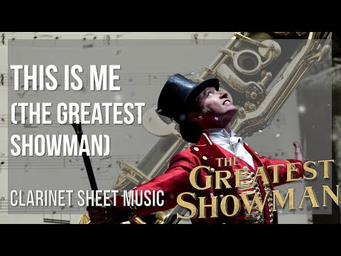 EASY Clarinet Sheet Music: How to play This Is Me (The Greatest Showman) by Keala Settle