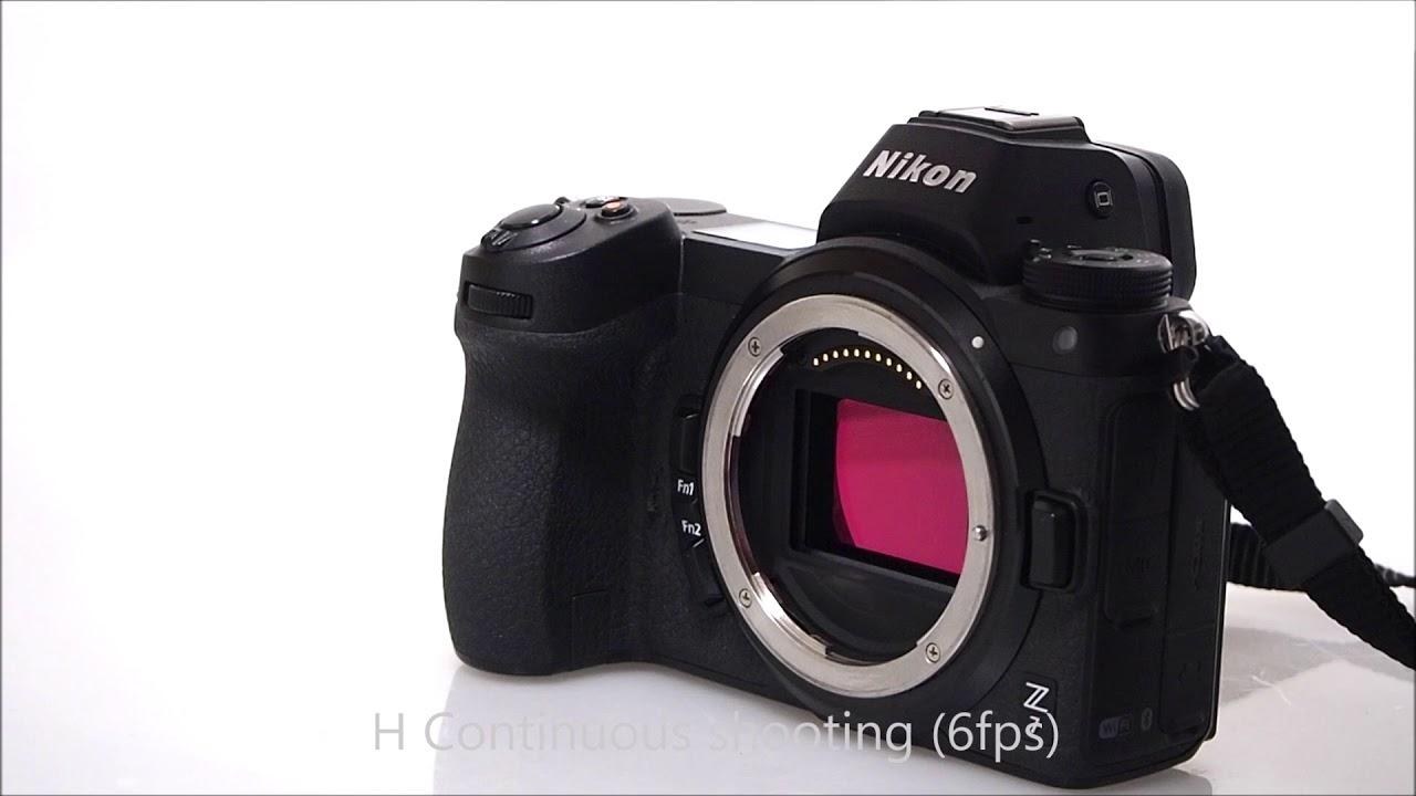 Nikon Z7 Shutter Sound Continuous Shooting H+