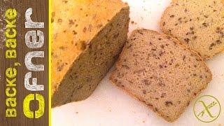 Glutenfreies Kastenbrot | Backe backe Ofner