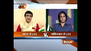 The battle b/w Indian spinners and Pak batsmen will decide the match: Ganguly and Ramiz Raja