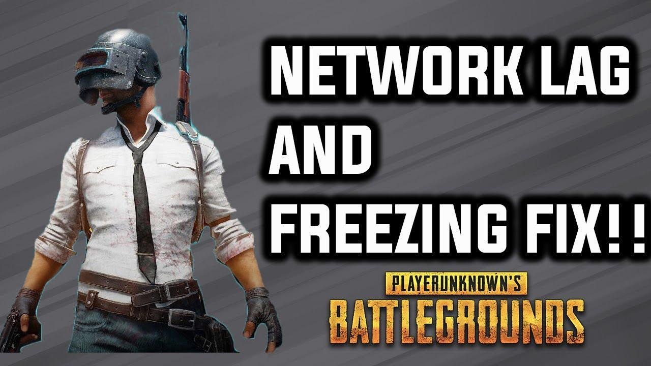 Pubg Hd No Lag: PUBG Freezing And Network Lag FIX