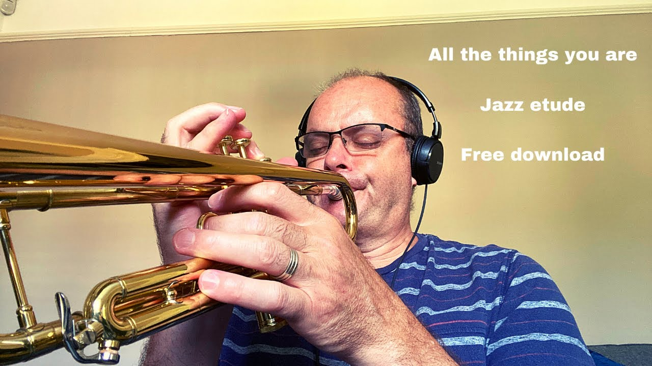 Free jazz sheet music pdf - All the things you are