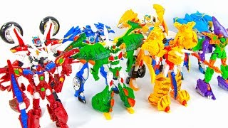 Robo Saviors QuickRescue SuperBike HelloCarbot Jurassic Toy Transformation