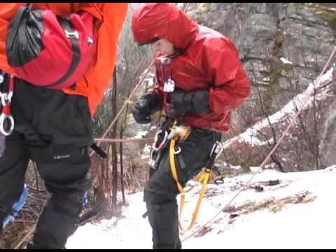 Ice Climbing in Montana
