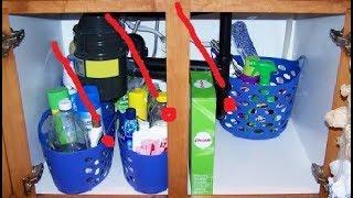 فكرة مبهرة لتنظيم ما تحت الحوض