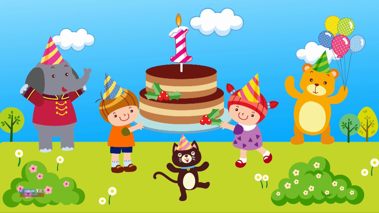 Joyeux Anniversaire Videos Educatives Dessins Animes Pour Enfants Happy Birthday To You Youtube