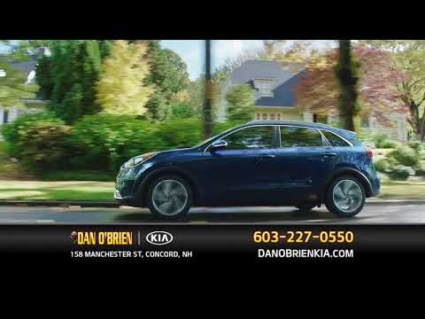2018 Kia Niro Hybrid, Concord, NH - Fresh Exterior Styling, Dan O'Brien Kia