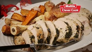 Turkey Breast Marinated With Herbs And Wine