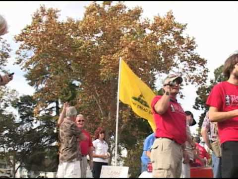 Nor Cal Tea Party Patriots - Constitutional Bus Tour (Day 1)