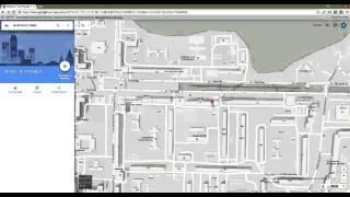 Как найти местонахождени объекта на карте зная его координаты