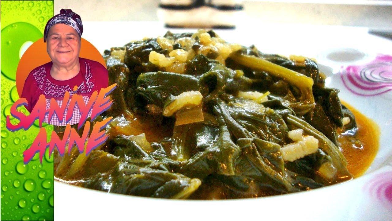 Kıymalı Ispanak Yemeği Videosu