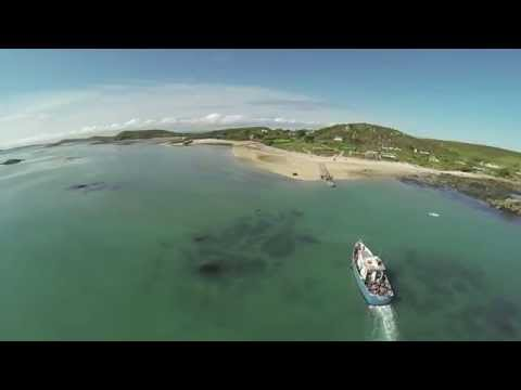 The beautiful island of Bryher, Isles of Scilly.