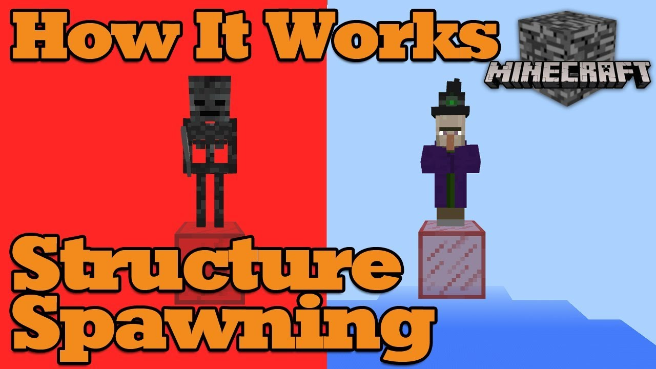 Tutorial - How it Works, Structure Spawning, Minecraft Bedrock 1 2 11 (BTU,  PE & Win10)