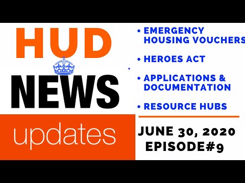 Emergency Section 8 Housing Vouchers - Low Income Housing News July 30th, 2020