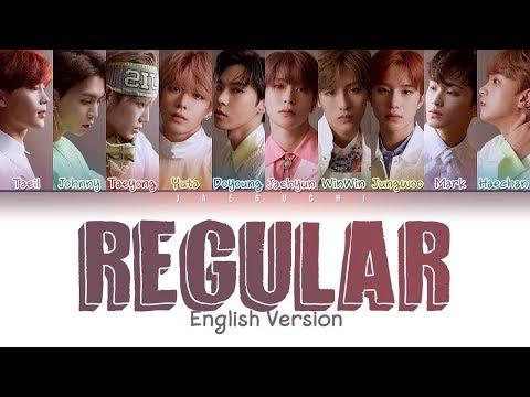 NCT 127 - Regular (English Version) (Color Coded Lyrics Eng/Rom/Han/가사)