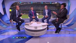 RTÉ studio criticism of Springboks team play (Ireland v South Africa 2017)