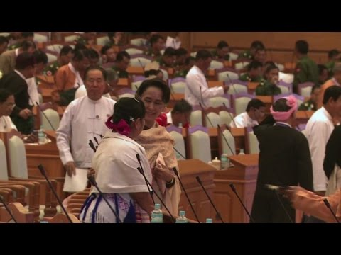 Suu Kyi's party prepares to take charge of Myanmar parliament