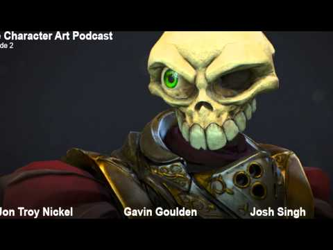 The Character Art Podcast #2: Josh Singh