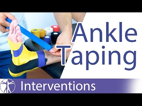 KNVB Ankle Tape | Ankle Inversion Trauma