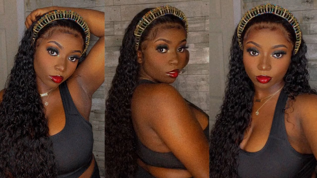 Slicked Back Cleopatra 👑 | 28 Inch Water Wave Hair | Yolissa Hair