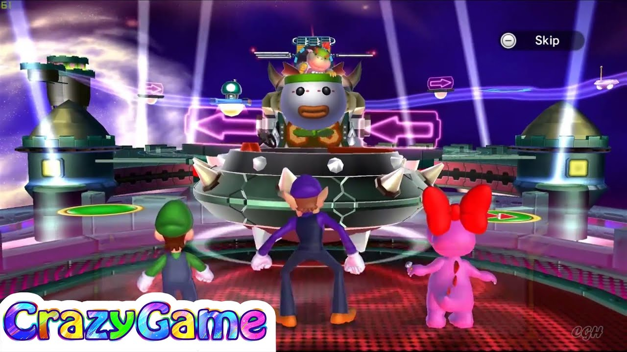 Mario Party 9 Bowser Station Party 31 Master Difficult Youtube