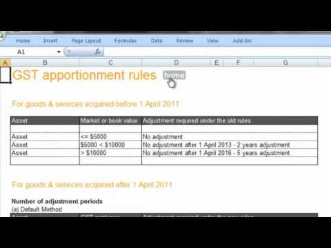 The Business Fitness NZ GST Apportionment Calculator .mp4
