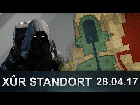 Destiny: Xur Position und Inventar 28.04.2017 (Deutsch / German)