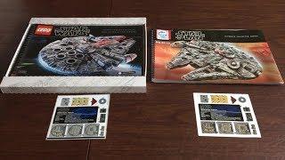 Lego #75192 vs Lepin 05132 UCS Millennium Falcon Part One