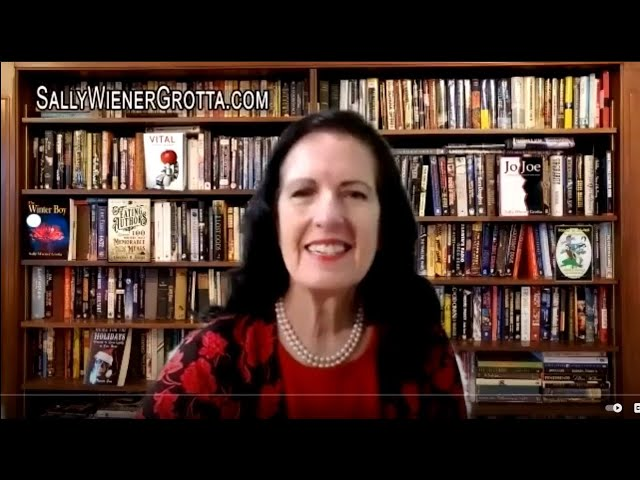 Sally Wiener Grotta reads a portion of her new novel,