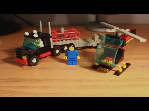 LEGO Set Review: Town Stunt 'Copter N' Truck (6357) from 1988