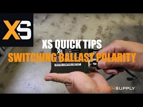 XS HID Quick Tips: Switching Ballast Polarity