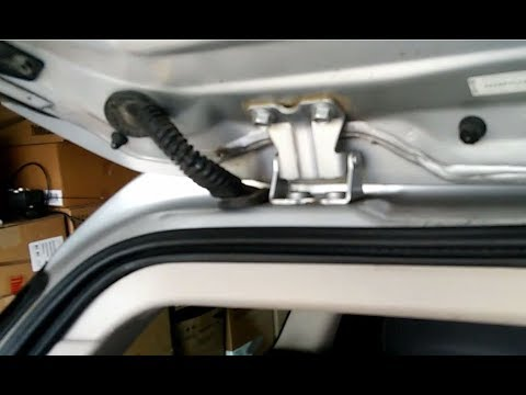 subaru outback 05 - 09, radio antenna wire fix