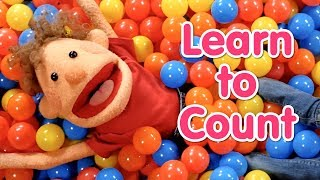Learn To Count From 1 To 10 | Super Duper Ball Pit | Numbers For Kids