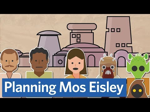 How planners plan cities (in Star Wars and real life)