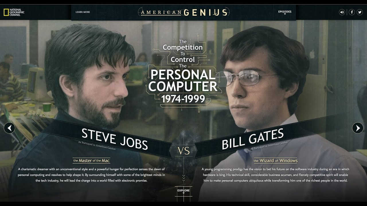 bill gates and steve jobs story
