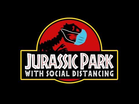 Jurassic Park with SOCIAL DISTANCING (Jurassic World Parody)