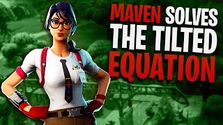 Fortnite - New Maven Skin wins at Tilted Towers! | DrLupo