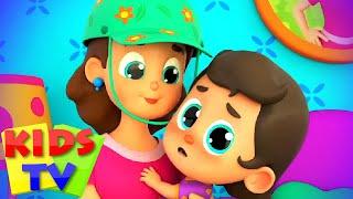 Больная песня Дошкольные видео Детские стишки Kids Tv Russia развивающий мультфильм