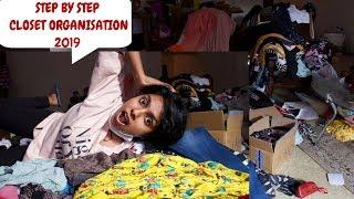 Closet Clean Out 2019 - 5 steps Closet Organisation India 2019 Closet Clear Up & Organization India