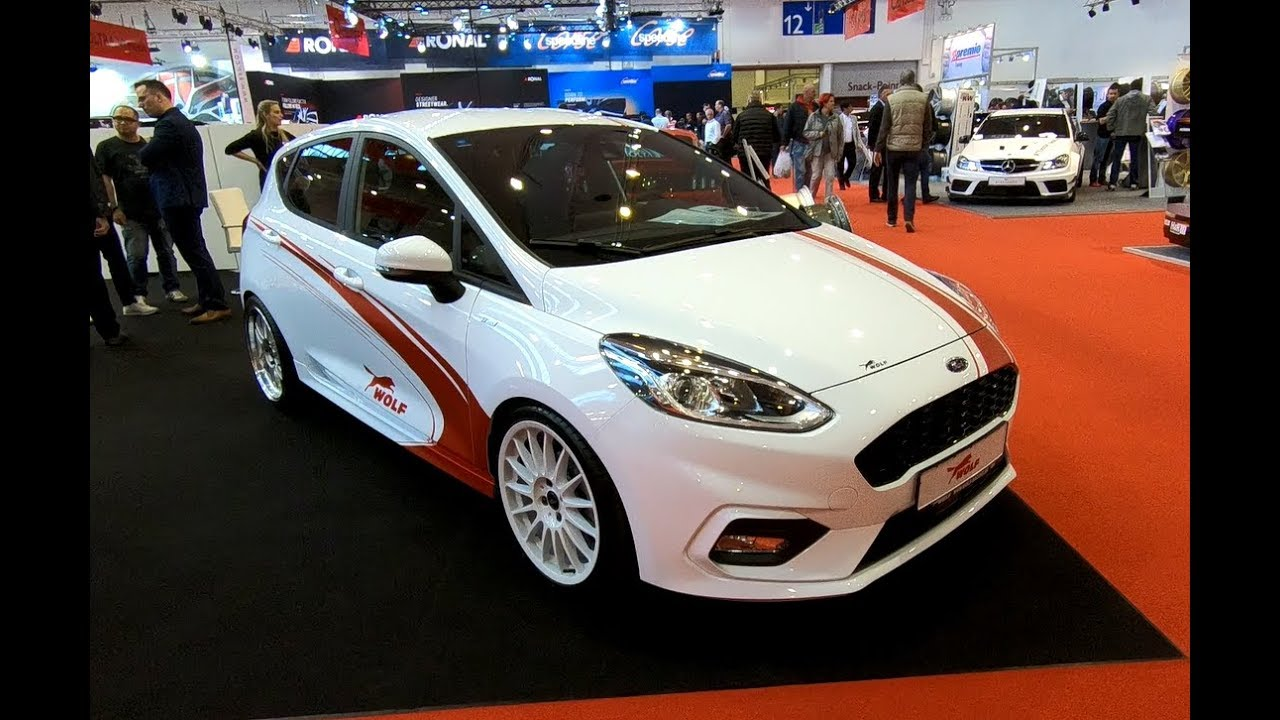 ford fiesta st line 4 door wolf tuning new model white. Black Bedroom Furniture Sets. Home Design Ideas