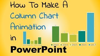 How to make a column chart animation in PowerPoint