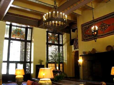 The Ahwahnee Hotel at Yosemite (interior lounge) May 2011 - YouTube