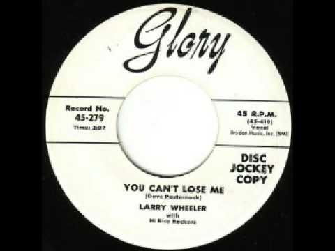 Larry Wheeler - You Can't Lose Me