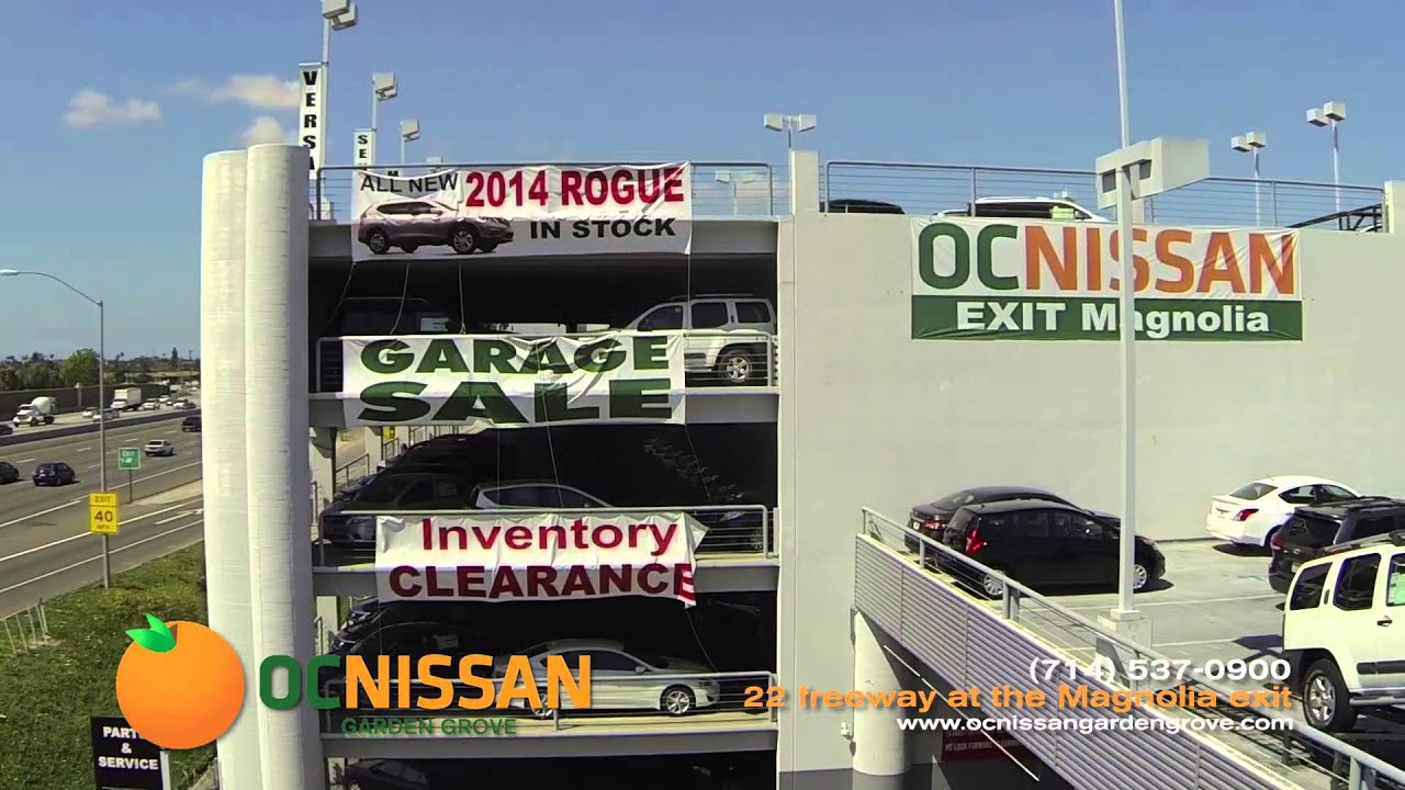 "Mike Salas, General Manager ""Welcomes You to OC Nissan Garden Grove!"""