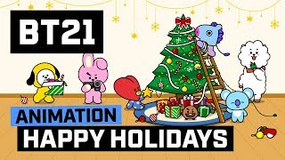 [BT21] Happy Holidays!