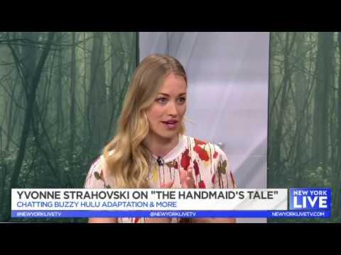 Yvonne Strahovski On The Handmaid's Tale  NBC New York Live