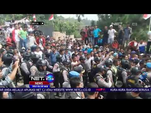 Pembakaran Umbul umbul Merah Putih, Warga Datangi Pondok Pesantren di Bogor - NET24